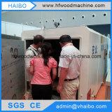 販売のためのより乾燥した木製の材木へのPLCの木製の働く機械