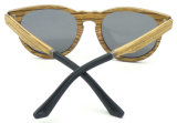Gafas de sol de madera naturales de la dimensión de una variable redonda del nuevo producto de madera del diseño Fw17889