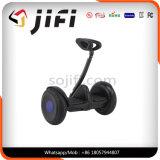 Desdobrável Scooter auto-equilibrado de dois rolos (preto / branco) Cor