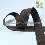 Sangle obligatoire de coton en arête de poisson pour des sacs et des accessoires de vêtement