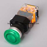 キー溝6-380Vの照らきのこのタイプ押しボタンスイッチ
