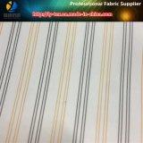 Forro azul claro, tela de la raya del poliester para el forro (S99.110)
