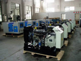 звукоизоляционный тепловозный генератор 15kVA приведенный в действие Yangdong (DG15)