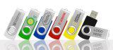 Promocional Swivel USB Flash Drive Colorido Bulk Cheap Thumb Drive 2GB 4GB 8GB Sticks