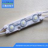 La luz blanca con lente óptica de luz LED Módulo
