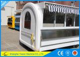 Carro al aire libre del café del restaurante móvil espacioso de Ys-Bf300c los 3m