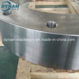 Precisão que faz à máquina da peça de aço do forjamento do CNC a roda exterior fazendo à máquina