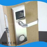 自由な管理ソフトウェアのためのステンレス鋼のホテルのハンドルロックRFIDのカードロック