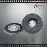 Disco della falda di Zirconia della granulosità 40 di acutezza T27 115mm del fornitore della Cina per acciaio inossidabile che lucida, protezione della vetroresina