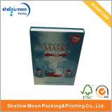 Personalizado cosmética facial de la máscara caja de papel de embalaje (QY150070)