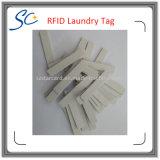 Etiqueta lavable del lavadero de la frecuencia ultraelevada del silicón RFID de ISO18000-6c
