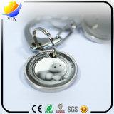 Chaîne principale de forme en métal de souvenir promotionnel principal fait sur commande du souvenir 3D