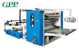 Máquina automática llena de la fabricación de papel de tejido facial del plegamiento