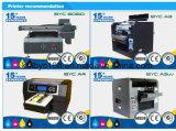 Preço UV da impressora, impressora UV Flatbed A3 para a pena da caixa do telefone/esfera de golfe/cartão