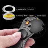 金属のタバコの指先指手USBの充満紡績工のライター