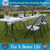Silla de plegamiento de acero al aire libre con el jardín PP-Gris