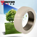 Alta calidad (131/2*51/2*8) Presionar-en el neumático sólido