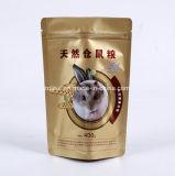Plastiknahrung- für Haustiereverpackenbeutel mit Reißverschluss
