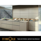 Wanut fineerde Moderne Keukenkast voor Huis Furniturer tivo-0278h