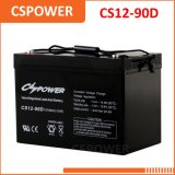 bateria padrão 12V 90ah 30h90r-N90 de 12V90ah JIS SMF auto
