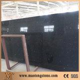 Aritificialの表面の水晶石の台所および浴室の純粋で黒い水晶平板