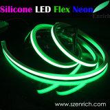 실리콘 바디를 가진 최고 밝은 RGBW LED 코드 네온 2000lm/M