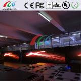 Sinal da indicação digital do diodo emissor de luz do anúncio ao ar livre de cor cheia