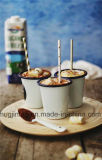 O esmalte da forma de funil atac o Kitchenware bebendo dos copos da água do esmalte da água do café do copo… para o presente