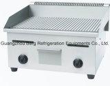 Gauffreuse d'acier inoxydable de matériel de cuisine de gaz de qualité