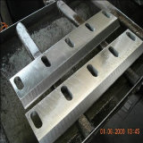 Lámina de la trituradora del acero de alta velocidad de los cuchillos de la nodulizadora