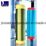 Filé DTY 100d/48f de filament de polyester teint par dopant