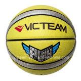 D'intérieur de PVC de panneaux et extérieurs matériels basket-ball de la taille stratifié 12 par jeux 7
