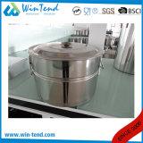 Potenciômetro conservado em estoque portátil do armazenamento quente do aço inoxidável da venda