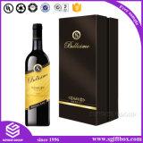 Leistungsfähiger kundenspezifischer lederner verpackenhilfsmittel-Wein-Kasten