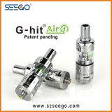 L'acciaio inossidabile Seego G-Ha colpito il serbatoio del vaporizzatore Air1 con grande capienza per E-Liquido