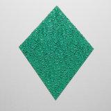 Hojas grabadas diamante plástico para la decoración