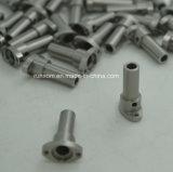 CNC подвергая подгонянные части механической обработке с нержавеющей сталью