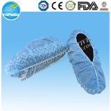 Медицинские хирургические гигиенические Overshoes крышки ботинка PP с эластичной резиновой лентой
