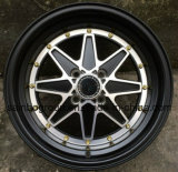 Оправа 15 колеса сплава автомобиля Aftermarket F71270 цветастая '
