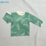 maglietta appena nata della fibra di bambù dell'abito del bambino di 0-24m
