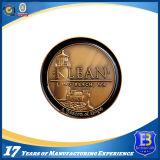 Монетка покрынная золотом с зашкуренным влиянием (ele-coin-002)