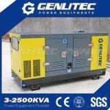 12kVA 단일 위상 침묵하는 Kubota 디젤 엔진 발전기 (GPK12S-1P)