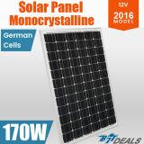 Comitato solare del sistema monocristallino di energia solare 170W