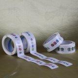 Etiqueta autoadhesiva de papel adhesiva de encargo de la impresión de la alta calidad