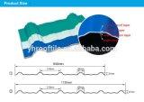 De snelle Tegel van het Dak van pvc van de Installatie/het LichtgewichtBlad van het upvc- Dakwerk voor Pakhuis