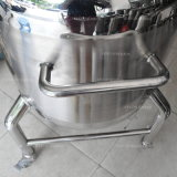 Serbatoio chimico sanitario mobile industriale dell'acciaio inossidabile per liquido