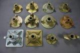 ecrou-papillon galvanisé par coffrage de 17/100mm 17/90mm pour C45 tige de renfort