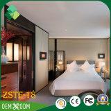 Jogo de quarto moderno do Teak do estilo da mobília do hotel (ZSTF-18)