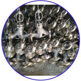 Robinet d'arrêt sphérique d'acier de moulage de la classe 150 d'api