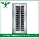 Внешняя конструкция двери нержавеющей стали для дома